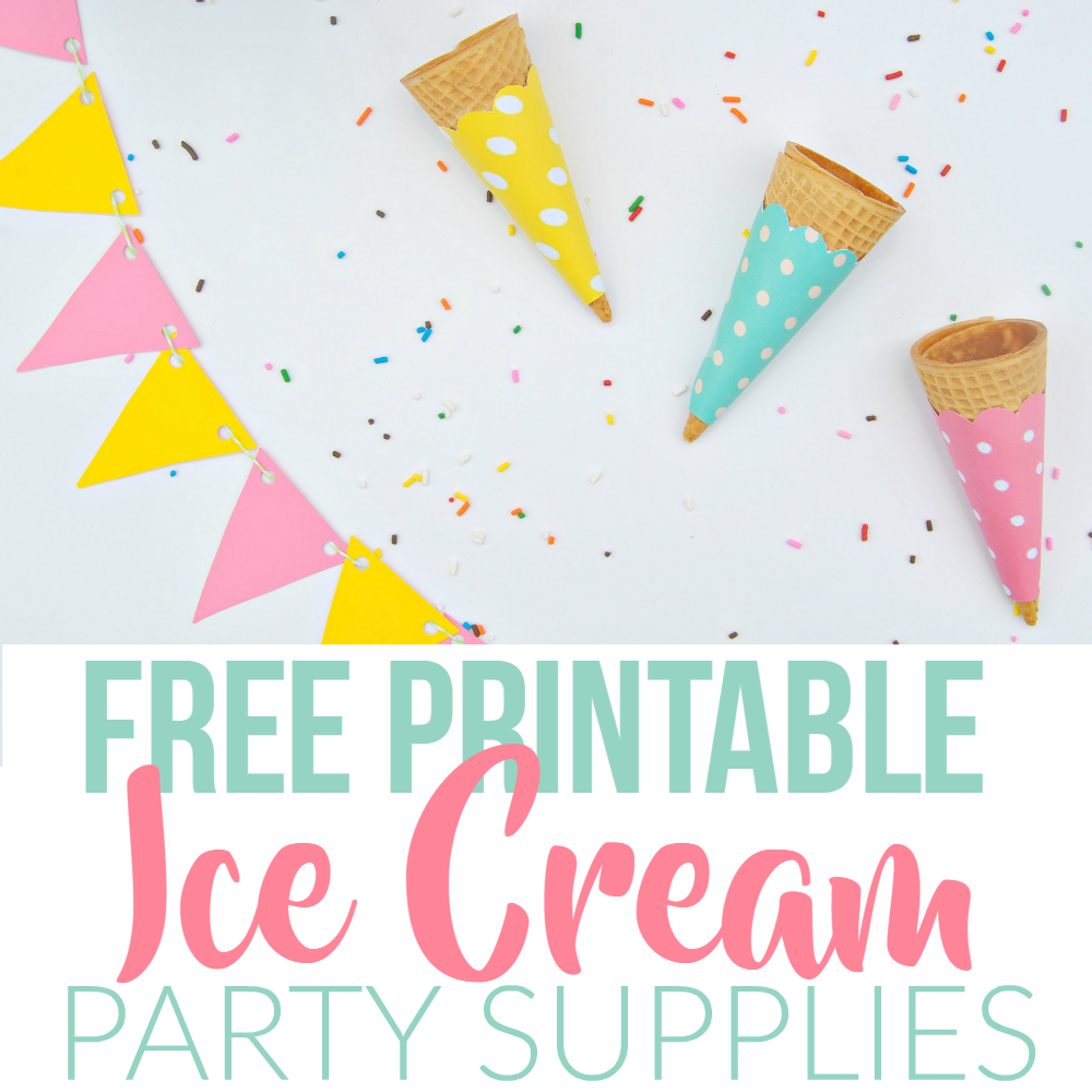 Summer Ice Cream Party Using Dollar Store Items Amp Free