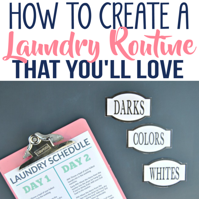 The Secret to Loving Laundry Day | Create a Stress-Free Laundry Routine with Free Printables