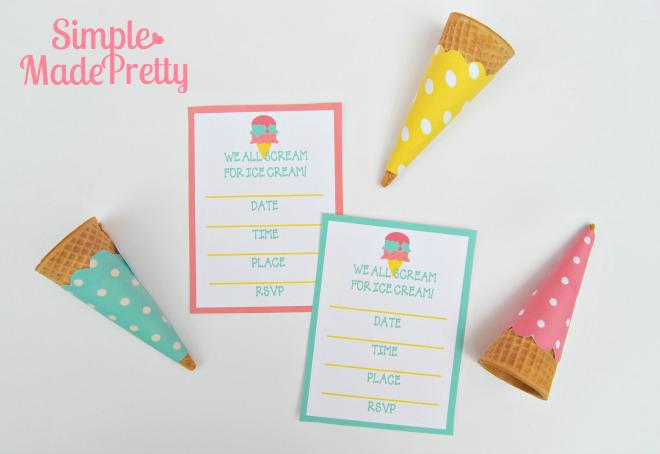What a fun idea! This ice cream party checklist was so handy a fun summer activity!