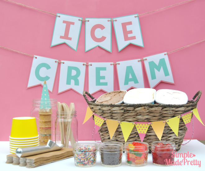 What a fun idea! This ice cream party checklist was so handy a fun summer activity!