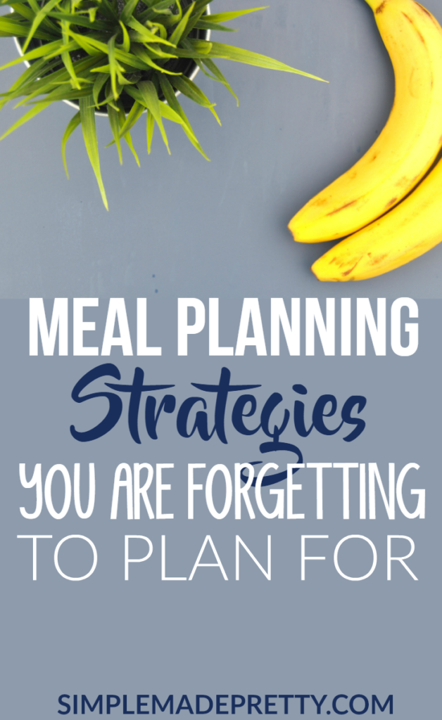 I've been doing meal planning all wrong! I missed these important steps and that's why I always failed at Meal planning. You should read this post if you are starting meal planning for beginners!