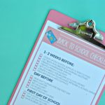 5 Back to School Routine Tips