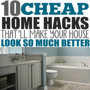 I love these fixer upper ideas for the kitchen, living room, bathroom, etc! I was looking for simple decor and home improvement ideas so we could flip our house for sale to make money fast. These ideas are cheap and easy if you have home improvement projects on a budget.
