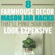8 Easy Ways to Create Farmhouse Style With Mason Jars