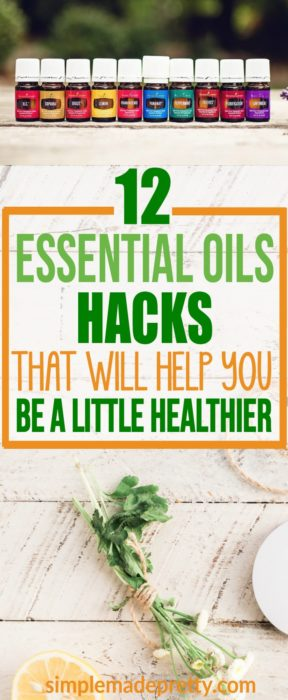 These essential oils hacks will help you be a little healthier. Learn tips and tricks to use essential oils. Must read if you are an essential oils beginner!