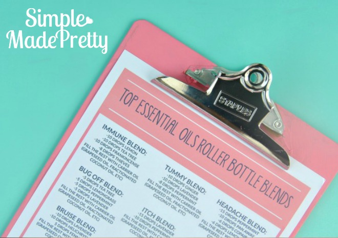 Download this cheat sheet with 28 roller ball recipes!