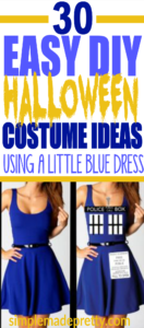 These Halloween costume ideas for women also have great ideas for Halloween costumes for couples and Halloween group costumes. I love the idea of using a dress to create an easy DIY Halloween costume!