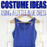 30 Last Minute Halloween Costume Ideas Using a Blue Dress