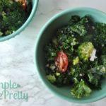 5-Minute Healthy Kale & Quinoa Salad