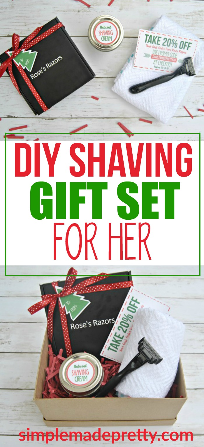 I love this Christmas gift idea for her! My girlfriend will love this DIY gift set for women. This gift basket idea for women is a thoughtful gift for birthdays, moms, friends, college students, care packages, and Christmas