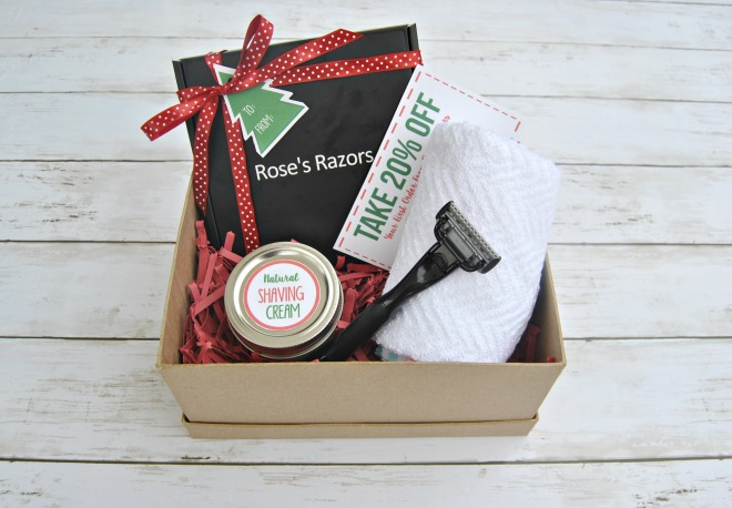 This was an awesome Christmas gift for mom DIY idea! This homemade shaving cream was the perfect compliment to the best razors for women.