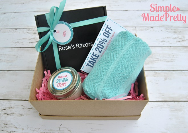 The razors feature in this gift basket are from Roses Razors and are one of the best razors for women shaving that I've used. I personally don't like spending the money on expensive razors and in the past have bought whatever was on sale. Well, not anymore! The cost of the razors from Roses Razors makes it a no-brainer to just order directly from them and have my razors delivered to my front door!