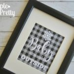 Free Printable Buffalo Plaid Home Decor Prints
