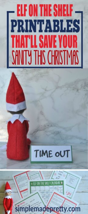 Wow! These elf on the shelf printable templates were a life saver! I could not believe how easy it was to set up our elf every night using the elf on the shelf printable notes. Our elf arrival note was so easy - just print and cut and you're done! She has tons of other Christmas printables to make this holiday season stress-free!