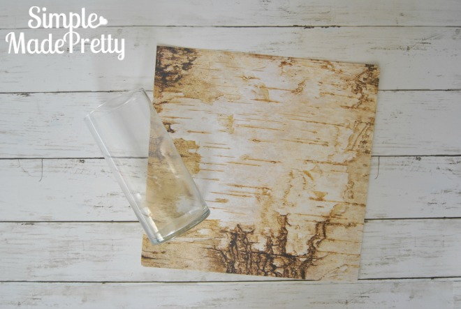 Diy Dollar Store Faux Birch Bark Vases Simple Made Pretty