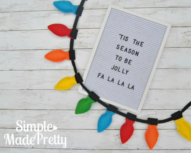I love this easy DIY felt Christmas craft decoration idea!