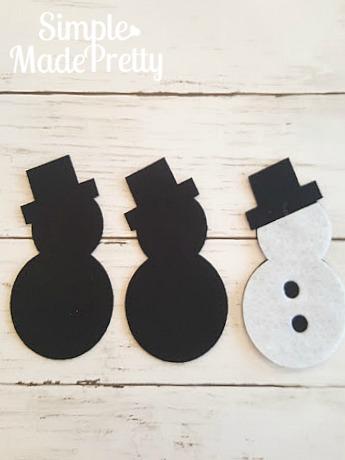 DIY Cricut Felt Christmas Tree Ornaments