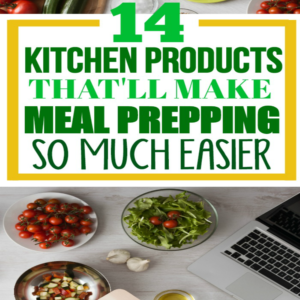 This list of kitchen supplies and products helped me with my meal prepping and meal planning struggles. I was a meal planning beginner and needed some ideas. Her blog is so helpful with other meal planning tips!