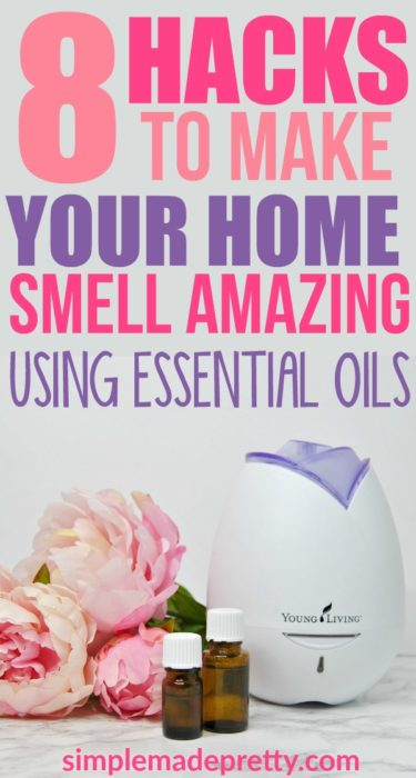 I love these DIY toxic-free air freshener ideas using essential oils! Essential oils for beginners | Essential oils hacks | Essential oils Young Living | Essential oils Diffuser | essential oils diffuser | air freshener | house smells | essential oils uses | Essential oils air freshener