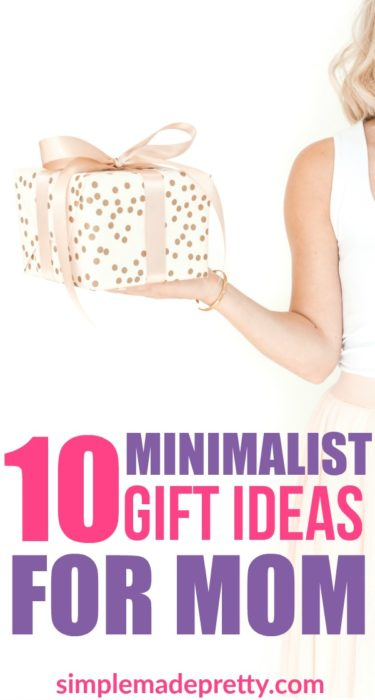 I love these simple minimalist gift ideas for mom and gift ideas for her! They are awesome non materialistic gift ideas for mom that you can DIY or DO for mom that will make her day. mother's day gift ideas | non-materialistic mother's day gift | minimalist mom | minimalist gifts | minimalist gift for her | minimalist gifts DIY