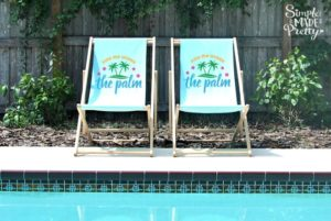 diy outdoor beach pool chairs
