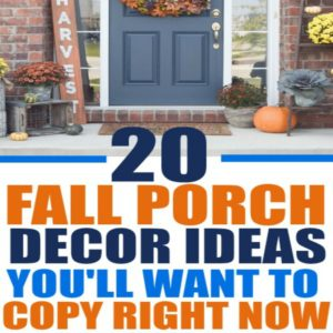 Thesefall porch decorations are easy to replicate and these fall outdoor decorating ideas will inspire you to decorate your front porch for fall! Most of these fall porch ideas feature pumpkins, fall colors, fall fabrics, fall flowers, and other fall porch decorating ideas to give you inspiration for your home! fall decor ideas diy dollar stores | fall decor ideas diy front doors | fall decor ideas diy autumn | fall decor ideas for the home | fall decor ideas for the porch | rustic fall decor ideas | rustic fall decor ideas for the porch | rustic fall decor ideas for the porch #falldecor #pumpkindecor #pumpkinspice #fallporchideas #fallfrontporch #fallporchdecor #fallporchideas