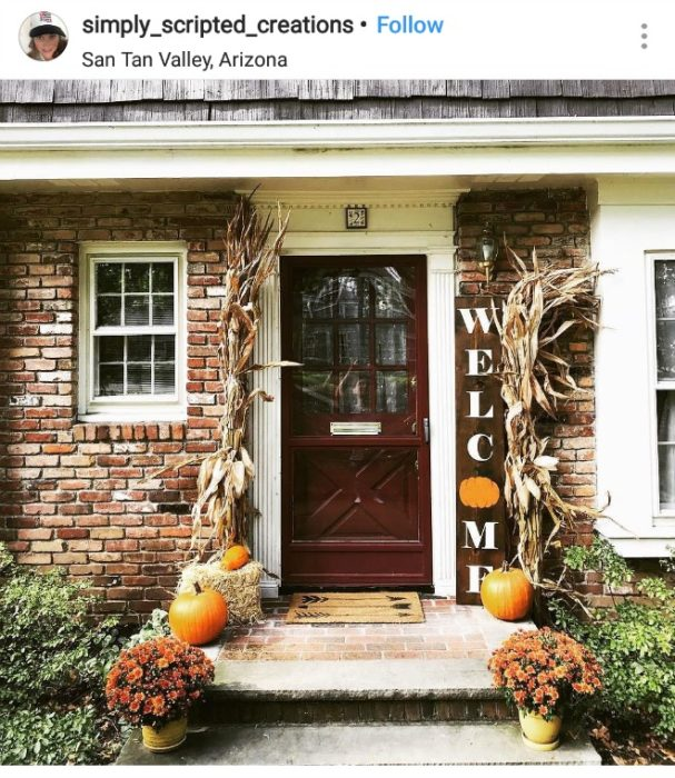 Front Porch Decorating: Front Porch Fall Decor (2019