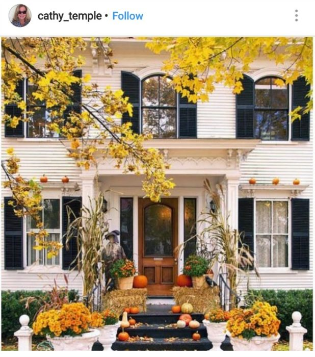 Country Front Porch Ideas: Front Porch Fall Decor (2018