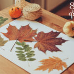 18 Ideas For Fall Crafts With Leaves