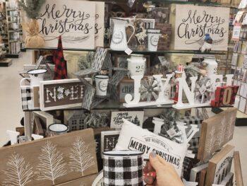 Hobby Lobby Classic Christmas Decor