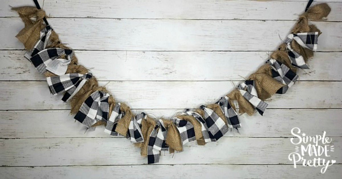Diy Rag Tie Garland Simple Made Pretty 2021