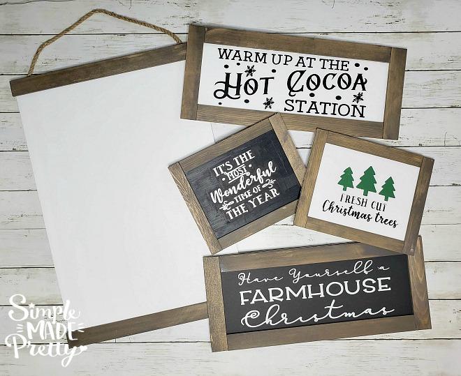 Diy Dollar Store Farmhouse Signs Simple Made Pretty 2020