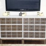 DIY Card Catalog Ikea Dresser Hack