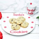 Dollar Store DIY Cookies For Santa Plate And Mug Set