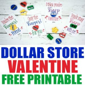 Dollar Store Pencil Sharpener Free Printable Valentine Cards, Valentine cards sharpener, free printable valentines, dollar store crafts, dollar store DIY, printables valentines, printable valentines day cards, free valentines printables, free printable valentine, valentine cards for kids, valentine cards DIY, printable Valentine's Day cards for kids, dollar store valentine crafts, dollar store valentines gifts, dollar store Valentine's gift ideas
