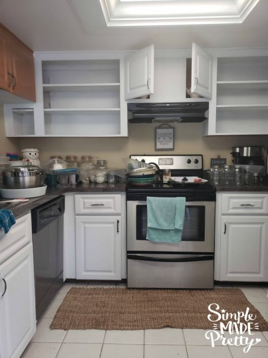 How To Paint Kitchen Cabinets Without Sanding - Simple Made ...