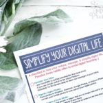 How To Organize Your Digital Life In 6 Simple Steps – Free Printable Checklist
