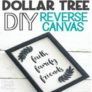 DIY Reverse Canvas Dollar Tree Sign, reverse canvas sign, reverse canvas ideas, reverse canvas DIY, reverse canvas sign ideas, reverse canvas, reverse canvas tutorial, reverse canvas Cricut, reverse canvas quotes, reverse canvas farmhouse, reverse canvas kitchen, reverse canvas SVG, reverse canvas HTV, reverse canvas love, 3d art, 3d art on canvas, 3d art DIY, black reverse canvas, Cricut canvas projects, Cricut projects, Cricut canvas signs, Cricut canvas ideas,