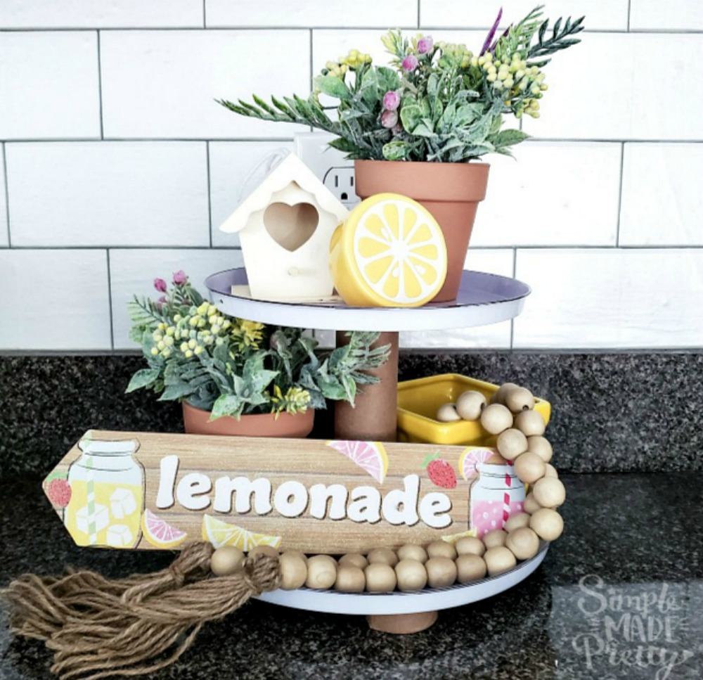 tiered tray DIY dollar stores, tiered trays, 3 tiered serving tray, 2 tier serving tray, tiered tray, tiered tray DIY, how to make a tiered tray DIY, DIY farmhouse tiered tray, tiered tray ideas, tiered tray  spring, hobby lobby tiered tray , fall tiered tray, tiered tray styling, Easter tiered tray, tiered tray fruit, tiered tray centerpiece, tiered tray wedding, tiered tray tea, tiered tray modern, tiered tray rae dunn, rustic tiered tray, tiered tray DIY tutorials, plate stands, cake pans