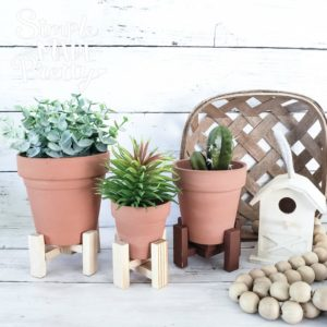 plant stands, wooden plant stands, Dollar Tree plant stands, Dollar Tree decor, Dollar Tree terracotta pots, DIY plant stand, DIY plant stand indoor, DIY plant stand easy, DIY plant stand outdoor, DIY plant stand tiered, DIY plant stand Dollar Store, DIY plant stand wood, DIY plant stand cheap, DIY plant stand mid-century, DIY plant stand farmhouse, DIY plant stand ideas, DIY plant stand small spaces, how to build DIY plant stand, DIY plant stand hack