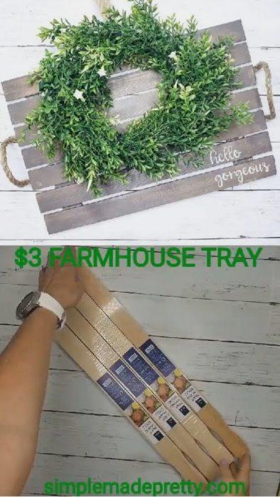 DIY Wooden Farmhouse Tray, farmhouse tray DIY, farmhouse tray decor, farmhouse tray,farmhouse tray kitchen,farmhouse tray coffee table,farmhouse tray,farmhouse tray ideas,farmhouse tray rustic,farmhouse tray, white,farmhouse tray Christmas,DIY Cookies for Santa Tray,cookies for santa tray wood,cookies for santa tray gift ideas,cookies for santa tray, paint stick crafts, paint sticks wood signs