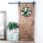 Budget-Friendly Sliding Barn Doors For The Farmhouse Look