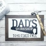 6 DIY Father's Day Cricut Gift Ideas From The Dollar Store