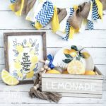 6 Dollar Tree Lemon Decor DIY Ideas