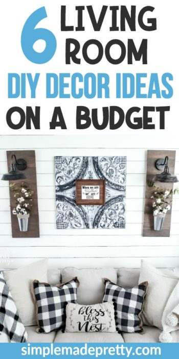 room decor DIY, room decor DIY cheap, room decor DIY small, room decor DIY rustic, room decor DIY living, room decor DIY project, room decor DIY black and white, living room decor ideas, living room decor ideas on a budget DIY wall art, living room decor ideas on a budget DIY tips, living room decor ideas on a budget DIY coffee table, small apartment, Living room decor farmhouse, rustic, wall, couch, living room decor farmhouse DIY projects