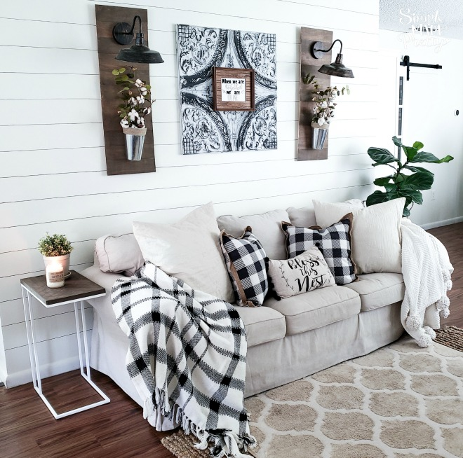 6 DIY Living Room Decor Ideas On A Budget - Simple Made ...