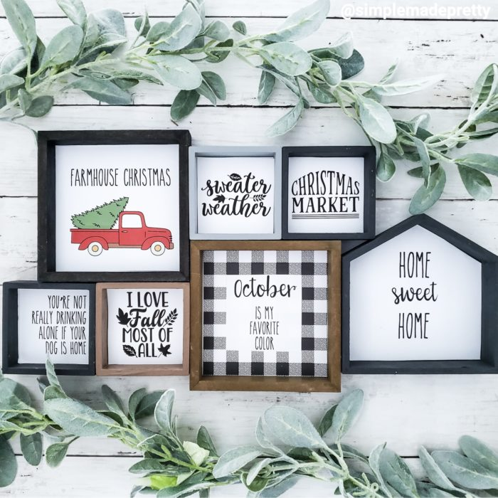 How To Make Farmhouse Signs Using Microsoft Word Simple Made Pretty 2020