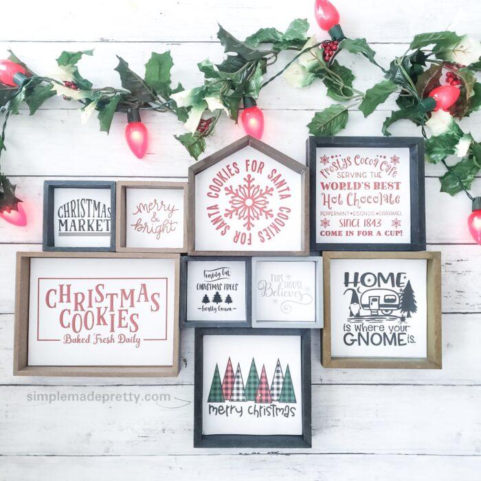 Printable Christmas Signs Dollar Tree DIY