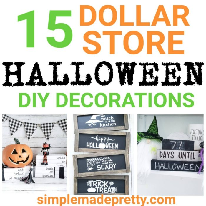 Super 15 Diy Dollar Store Halloween Decorations Simple Made Ncnpc Chair Design For Home Ncnpcorg
