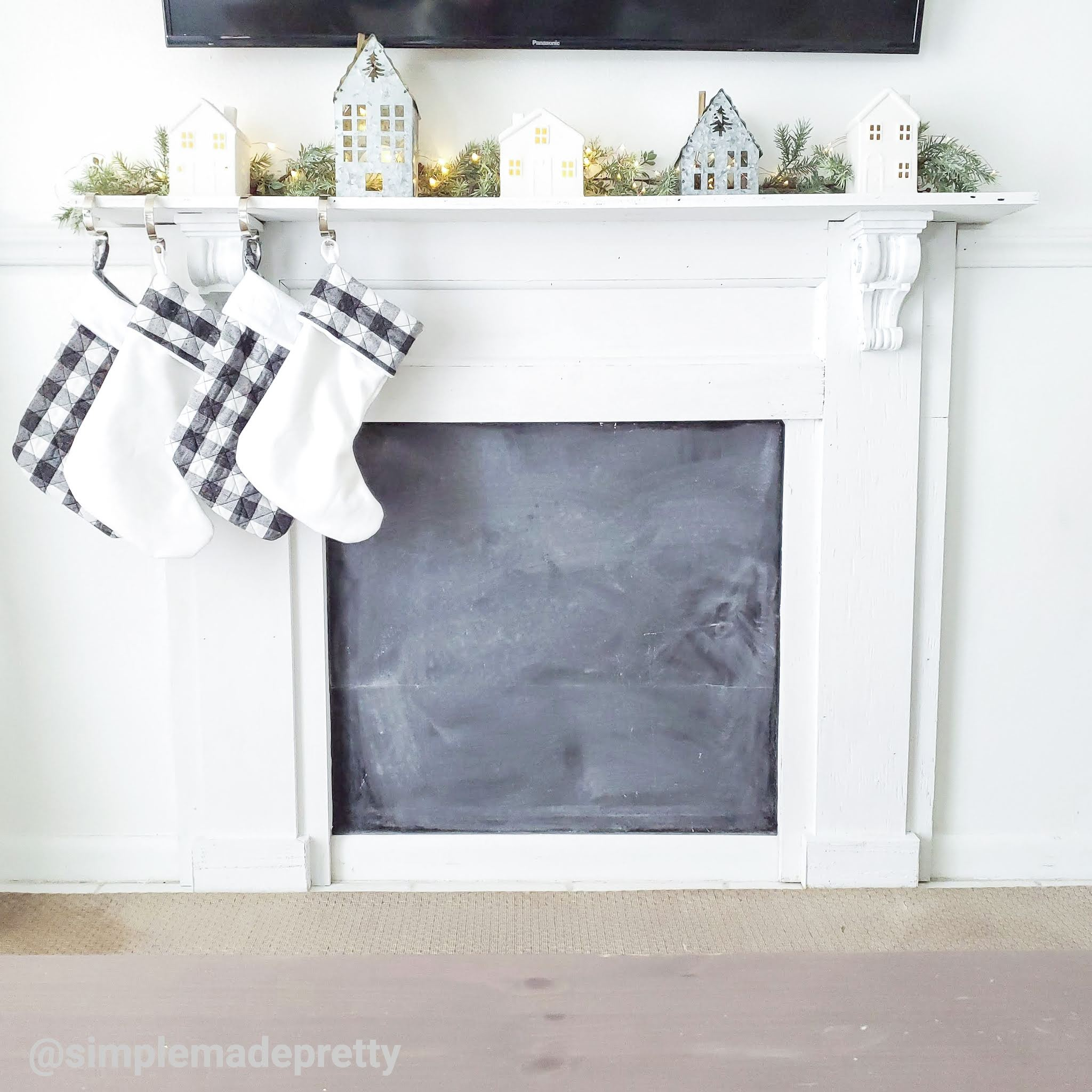 How To Build A Faux Fireplace Simple Made Pretty 2021